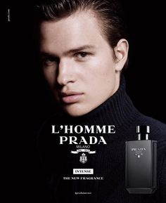 Ansel Elgort Once Again Fronts Prada Fragrance Campaign | DA MAN Magazine