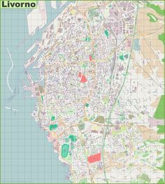 Large detailed map of Savona Maps Pinterest Italy