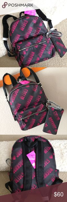 Details zu GUESS Pinup Pop Female Women's Backpack Black Gently Used