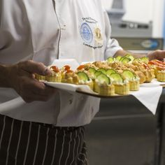 Canapes that were prepared early in the morning ready for our opening party #healthy #vegetarian