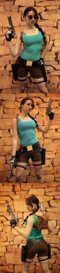 Classic Lara Croft (from Tomb Raider) #cosplay