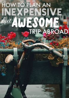 There is a widespread (and erroneous) belief that traveling has to cost a fortune. Let me let you in on a little secret- it doesn't! I have traveled to 35 countries and besides family vacations as a kid, all on a tight budget. With a bit of finagling, you can save money both by saving hard before your trip as well as watching every euro, lira and rupiah you spend on the road.