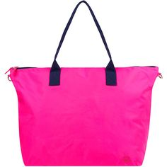 Accessorize Spirit Neon Packable Weekender Bag ($44) ❤ liked on Polyvore featuring bags and luggage