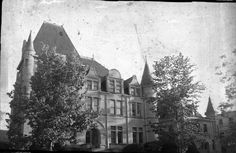Croke-Patterson-Campbell Mansion at 420 E. 11th Ave. in Denver's Capitol Hill