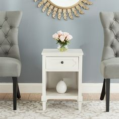 Safavieh AMH5726 American Home Rosaleen Side Table | ATG Stores