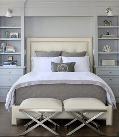 25 ideas de un dormitorio principal y la creación de un elegante espacio para descansar | Decoración