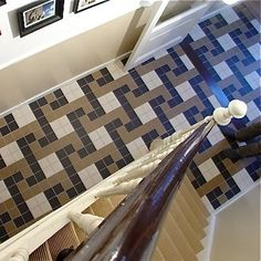 Stairs, Flooring, Patterns, Design, Home Decor, Block Prints, Stairway, Decoration Home, Staircases