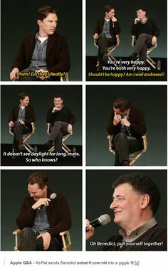 Talking about the Fandom and the things they create. lol