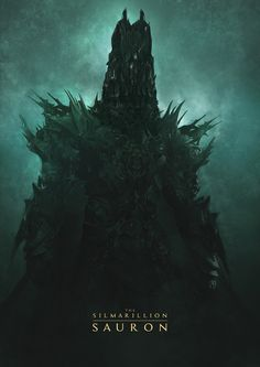Sauron 2 - The Silmarillion, Guillem H. Fantasy Books, Fantasy Artwork, Das Silmarillion, Graffiti Piece, Morgoth, Dark Power, Epic Art, Jrr Tolkien, Dark Lord