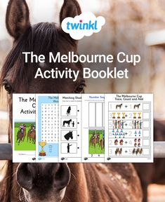 Carry out some fun horse Melbourne Cup activities with this handy booklet. Ideal for young students, you can use as end of day tasks around the event time. Classroom Activities, Fun Activities, Comprehension Activities, Melbourne Cup, Classroom Displays, Activity Games, Task Cards, Horse Racing, Maze