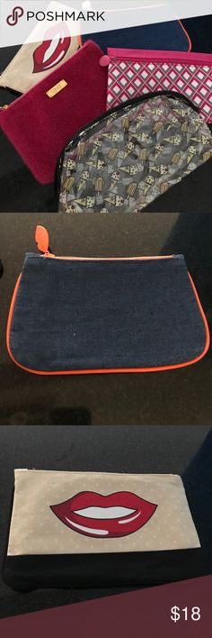 5 NEVER USED IPSY Makeup Bags 5 NEVER USED IPSY Makeup Bags ipsy Bags Cosmetic Bags & Cases