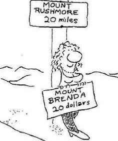Mount Rushmore-Mount Brenda