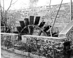 """Pont Aven... Cette roue restaurée, du Moulin de la Porte Neuve je l'ai eu devant """"mon nez"""", quotidiennement, pendant plus de 20 ans..."""
