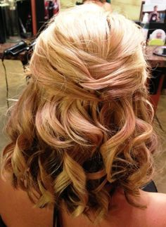 Wedding Hairstyles – short hair wedding styles with veil : Wedding Hairstyles Ideas – 2016 – Latest Fashion Trends. Medium Length Half Up ...