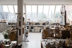 Freunde von Freunden — Gisèle d'Ailly van Waterschoot van der Gracht — Publisher & Artist, Apartment, Amsterdam — http://www.freundevonfreunden.com/interviews/gisele-dailly-van-waterschoot-van-der-gracht/
