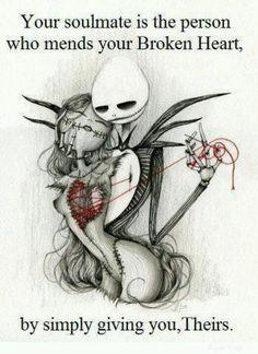 Jack and sally mending broken hearts