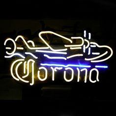 Find best value and selection for your #Corona_Plane #Neon_Sign. It is crafted in a good-looking effect.