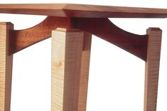 Nationally recognized artisans combining three distinct elements: excellent design, extradordinary craftsmanship, and beautiful, exotic woods to produce fine custom furniture. Custom Furniture, Table Furniture, Furniture Ideas, Furniture Design, Japanese Joinery, Hardwood Table, House Projects, Female Athletes, Wood Wall Art