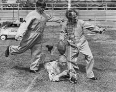3 Three Stooges Moe Larry Curly football tee kick 8x10 11x14 16x20 photo 122 - Size 8x10 by Your Sports Memorabilia Store. $6.99