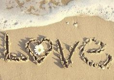 Happiness is Love- A Day at the Beach