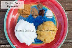 Spiced Honey Coconut Spread | GNOWFGLINS.com