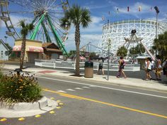 Myrtle Beach's Family Kingdom vacation hotspot.