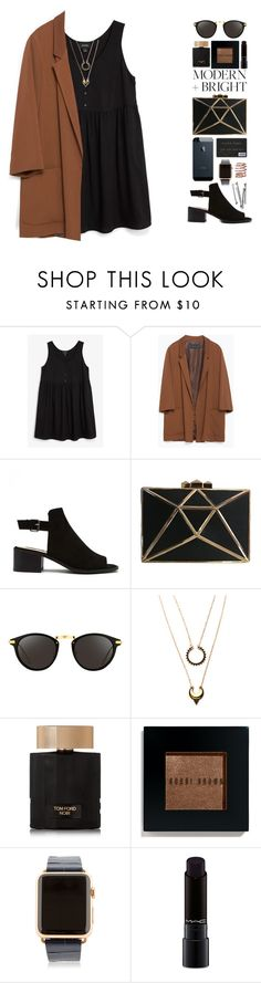 """""""keep it classy and vote // my dream wardrobe pt.28"""" by undercover-martyn ❤ liked on Polyvore featuring Monki, Zara, Forever 21, Linda Farrow, WithChic, Tom Ford, Bobbi Brown Cosmetics, Hadoro, MAC Cosmetics and BOBBY"""