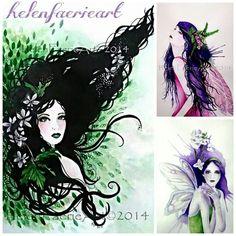 #PicsArt #art #pagan #faerie #illustration #watercolour #fineart #faeryart prints available at www.helenfaerieart.co.uk