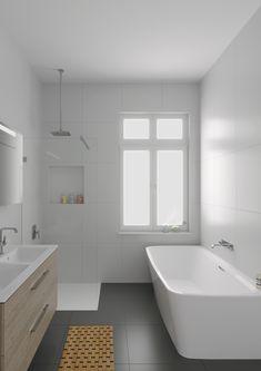 Bathroom Decor on a budget 17 Beautiful Small Bathroom Ideas - Love Laughter Family Bathroom design Bathroom Tile Designs, Bathroom Renos, Bathroom Interior Design, Bathroom Flooring, Bathroom Remodeling, Bathroom Vanities, Bathroom Cabinets, Restroom Cabinets, Small Bathroom Tiles