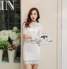 Luxurious embroidery lace dress  Odee&Cutie Daily Fashion 2015  เดรสแบรนด์เนมลูกไม้ เนื้อผ้าลูกไม้ถักทอลายเนื้อผ้าหนานะคะ ทรงปกคอตั้ง แขนยาว ช่วงตัวมีซับในในตัว ซิปซ่อนด้านหลังค่ะ⚡ ทรงสวยเหมือนนางแบบ   สนใจ ติดต่อ :   Facebook  : www.facebook.com/adsdress  Line           : @adsdress Tel.            : 0986967889 E-mail        : adsdress@hotmail.com #adsdress