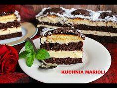 SERNIK GOTOWANY, NA BISZKOPCIE - MOJA DELICJA - YouTube Tiramisu, Cheesecake, Ethnic Recipes, Blog, Youtube, Cheesecakes, Blogging, Tiramisu Cake, Youtubers