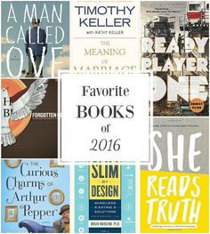 Top books read in 2016 from AnOregonCottage.com - a balance of fiction and nonfiction