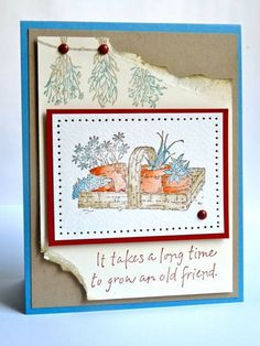 Cards SU Long Time Friend on Pinterest | Paper Crafts ...