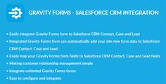 Download Gravity Forms - Salesforce CRM Integration Nulled Latest Version