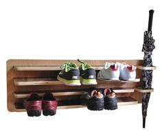 Shoe Envy Shoe Rack + Umbrella Holder