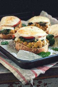 With a kick of spices, melted mozzarella, and zesty lemon juice, this melt is the modern, tastier version of old-school sandwiches. One bite and you'll never look back. Get the Recipe at Gouda Life.   - Redbook.com
