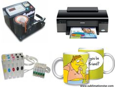 How To Print Mugs By Dye Sublimation Ink And Sublimation Transfer Sublimation Mugs, T Shirt Transfers, Transfer Paper, Gift For Lover, Usb Flash Drive, Unique Gifts, Printing, Ink, Original Gifts