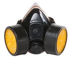 Respirator Mask Dual Cartridge Anti-Dust Paint Pollution Comfort Durable Plastic One Size - Super Comfort Best Amazon, Amazon Deals, Cyberpunk, Amazon Tribe, Mask Painting, Respirator Mask, Cool Masks, Full Face, Thing 1
