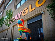 """""""Ever wonder where DayGlo paint came from ? The """"Day-Glo Brothers"""" Bob and Joe Switzer invented daylight fluorescent inks when Bob had a head injury that messed up his vision. They later founded the Day-Glo Color Corporation in here in Cleveland, Ohio. Head Injury, Cleveland Ohio, More, Inventions, Color Mixing, Painting, Painting Art, Paintings, Painted Canvas"""