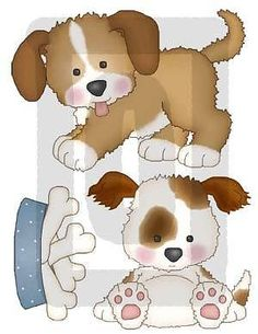 PUPPY DOGS PUPPIES PAW PRINTS DALMATION BABY NURSERY KIDS WALL STICKERS DECALS
