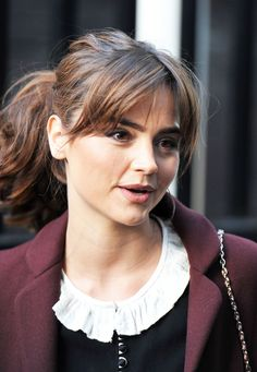 Jenna Louise Coleman At ITV Studios After Appearing On The 'Daybreak ...