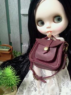 Guinea Leather Sling Bag  It's so cool when by lessugarhandmade, $40.00