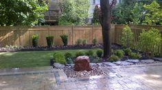 Beautiful backyard