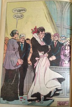 Felicity Smoak 12th appearance Fury of Firestorm Anniversary Issue #50: Vows. #Arrow #Olicity #wedding
