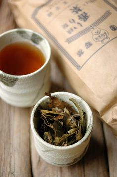 Japanese tea, Bancha 番茶 - the lowest grade of tea,  but consumed in the greatest quantity.