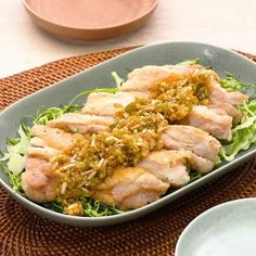 Lunch Recipes, Real Food Recipes, Chicken Recipes, Cooking Recipes, Japanese Vegetables Recipe, Japanese Side Dish, Jamaican Dishes, Cooking Dishes, Tasty Videos
