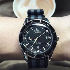 007 coffee break. No mission. Omega Seamaster 300 Master Co-Axial 41 mm SPECTRE James Bond 007 Limited Edition . Courtesy of #zhavericaribbeangems #Alaska. #likeforlike #like4like #l4l by zhaveri
