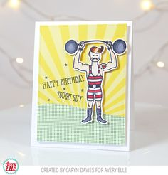 I'm up on the Avery Elle Blog today sharing a card I made using the new Tough Guy stamp set from the Summer release. This is such a cool set for making those much maligned cards for men. I …