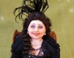 soraya dolls | CARMELA ooak Opera lady 1:12 dollh ouse doll by Soraya Merino ...