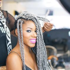 about crochet box braids on Pinterest Box braids, Crochet braids ...